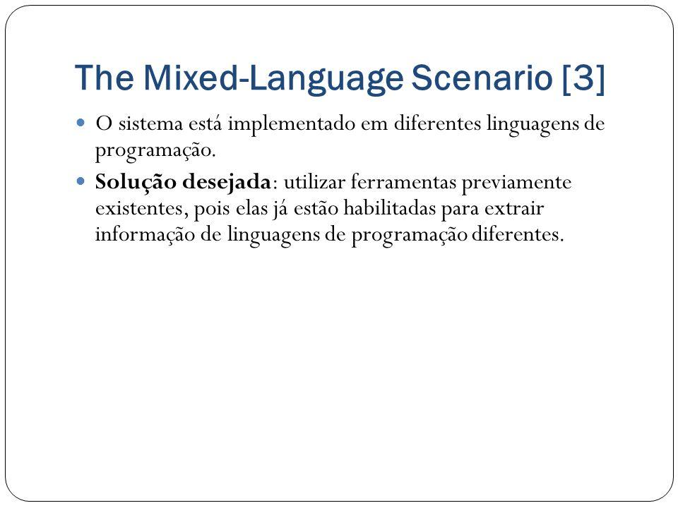 The Mixed-Language Scenario [3]